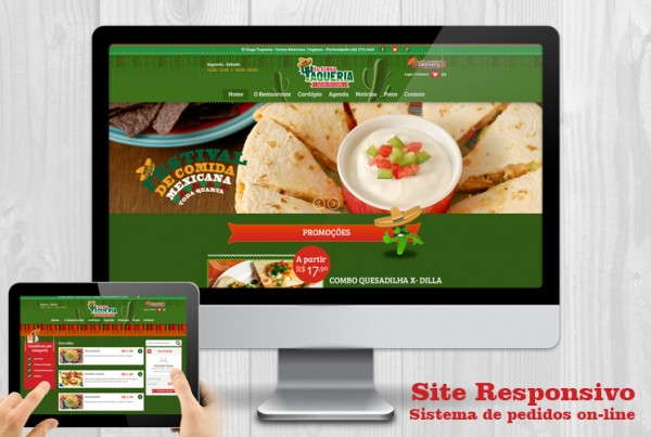 site com pedidos delivery on-line para restaurante florianopolis