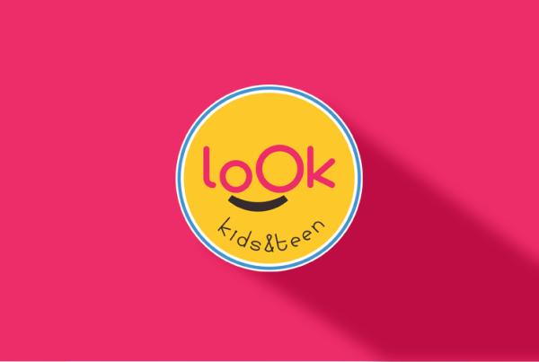 logotipo loja roupa kids infantil bebe