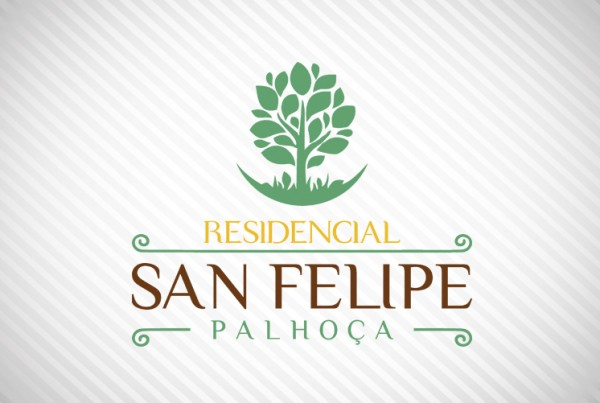 logotipo Condominio Residencial san felipe palhoça florianopolis